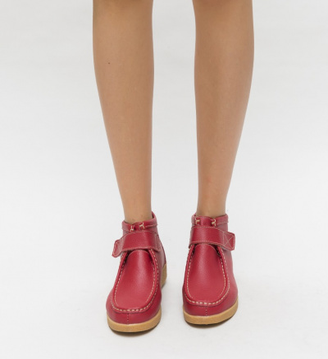 Pantofi Casual Debir Rosii