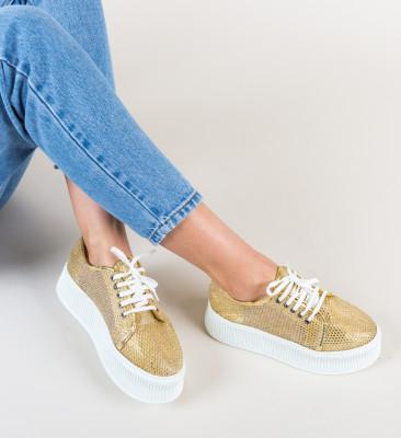Pantofi Casual Doheris Aurii