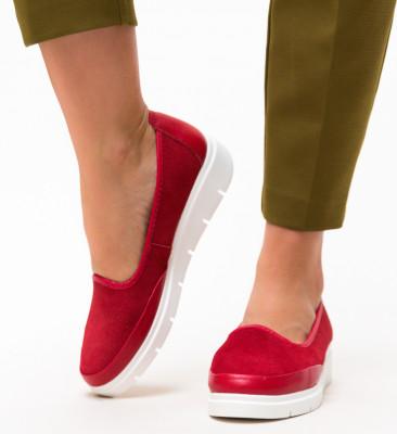 Pantofi Casual Dole Rosii 2