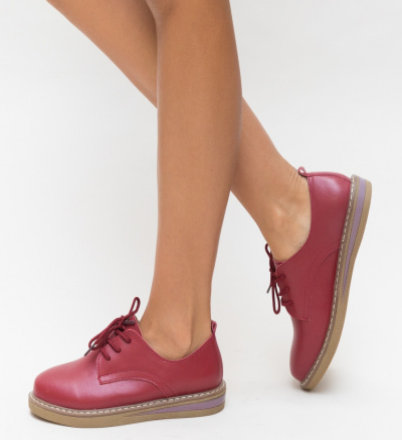 Pantofi Casual Doria Rosii