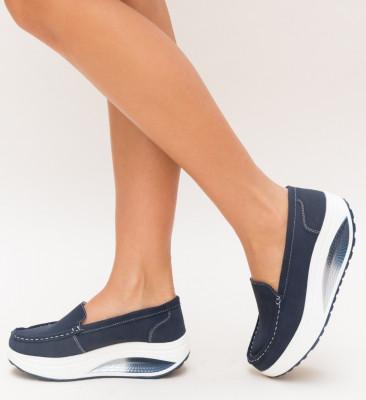 Pantofi Casual Drigo Albastri 2