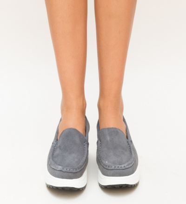 Pantofi Casual Drigo Gri