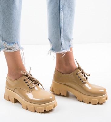 Pantofi Casual Fragara Bej