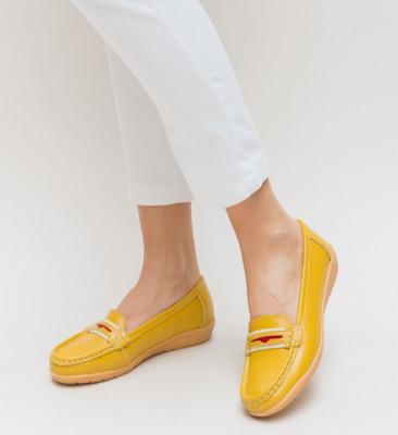 Pantofi Casual Grifis Galbeni