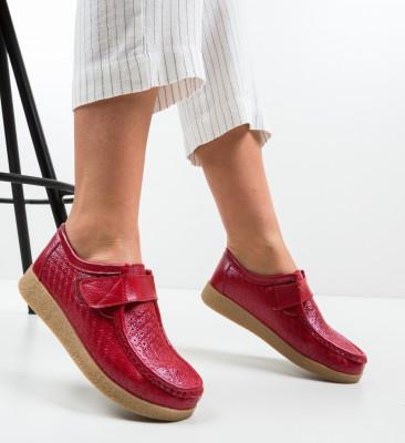 Pantofi Casual Ilena Rosii