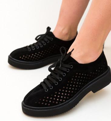 Pantofi Casual Jalbix Negri