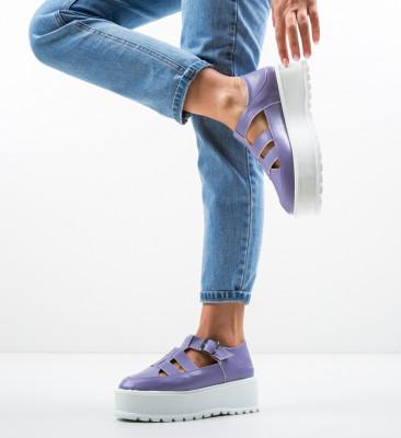 Pantofi Casual Karagam Mov