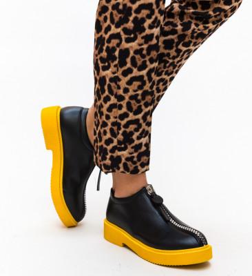 Pantofi Casual Lukoni Galbeni