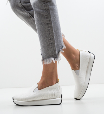 Pantofi Casual Malter Albi