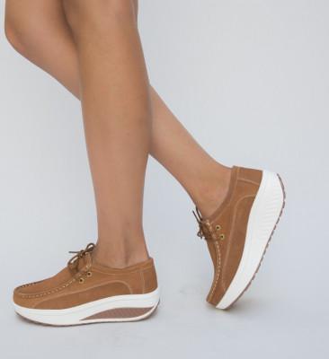 Pantofi Casual Marco Camel