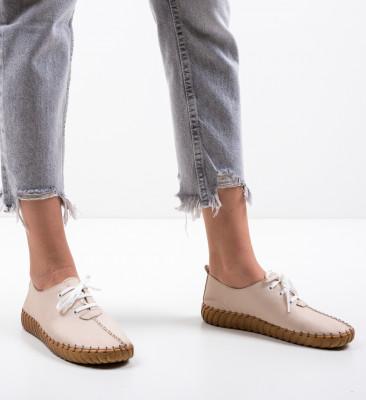 Pantofi Casual Mility Bej