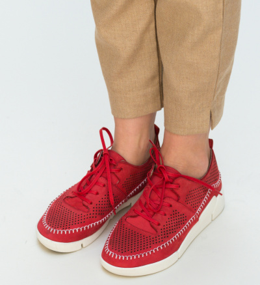 Pantofi Casual Monaco Rosii