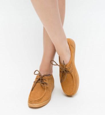 Pantofi Casual Neca Camel
