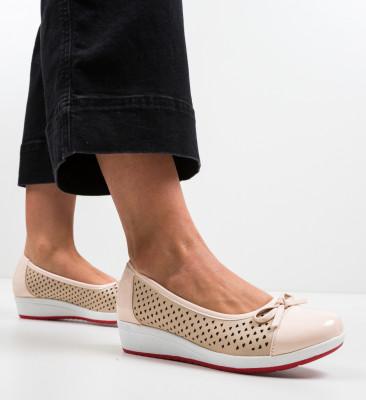 Pantofi Casual Oanica Bej