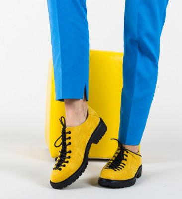 Pantofi Casual Odom Galbeni