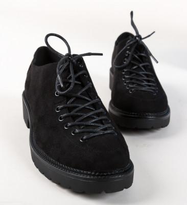 Pantofi Casual Odom Negri
