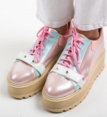 Pantofi Casual Okila Roz
