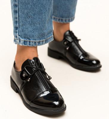 Pantofi Casual Owais Negri