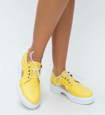 Pantofi Casual Pepi Galbeni