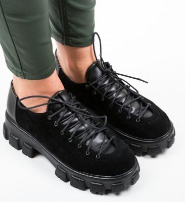 Pantofi Casual Polopa Negri 2