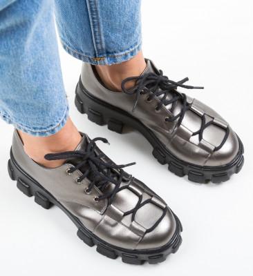 Pantofi Casual Rabcos Gri