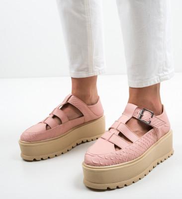 Pantofi Casual Ramada Roz 2