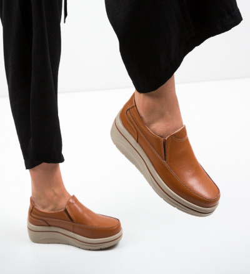 Pantofi Casual Rankin Camel