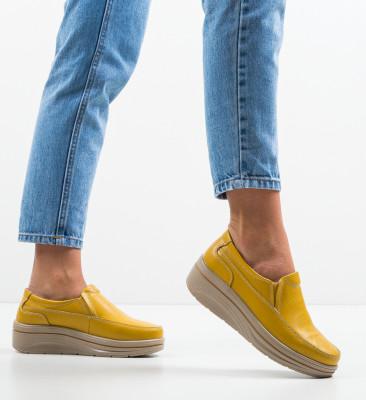 Pantofi Casual Rankin Galbeni