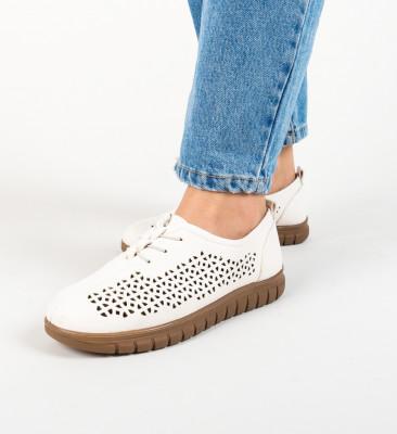 Pantofi Casual Rinhob Bej