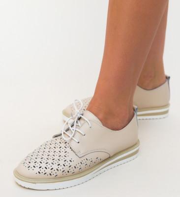 Pantofi Casual Rofrel Bej
