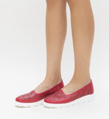Pantofi Casual Rucu Rosii