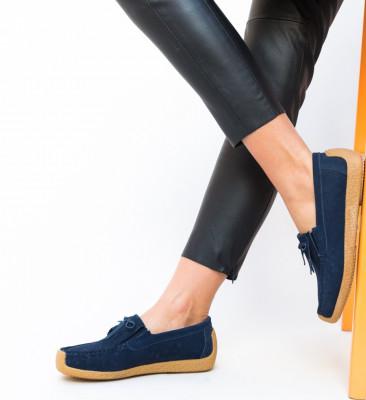 Pantofi Casual Termeio Bleu