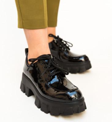 Pantofi Casual Trako Negri 2