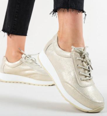 Pantofi Casual Velma Aurii