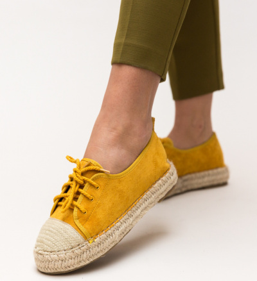 Pantofi Casual Yusuf Galbeni