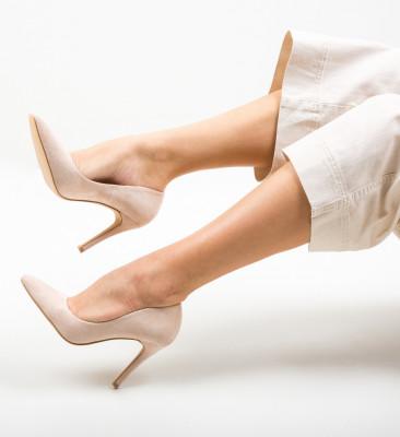 Pantofi Cerys Bej