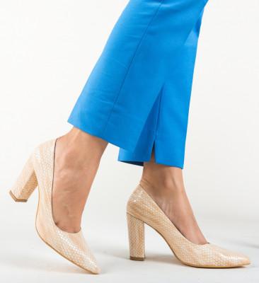 Pantofi Cocodil Roz