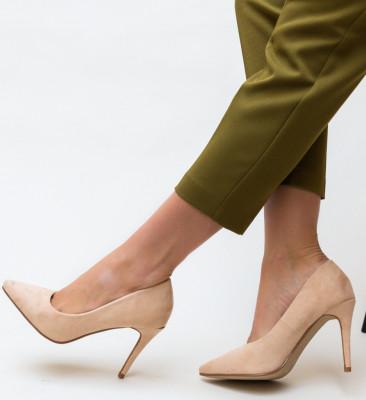 Pantofi Cruze Nude