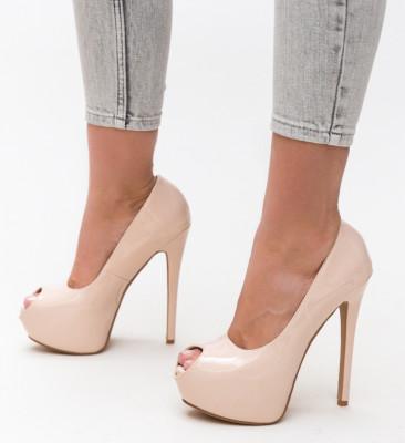 Pantofi Daguno Nude