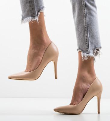 Pantofi Dean Nude