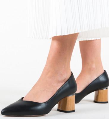 Pantofi Devon Negri 2