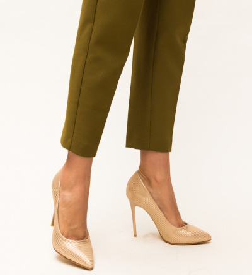 Pantofi Dott Aurii