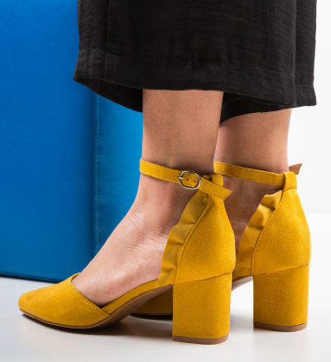 Pantofi Eboq Galbeni