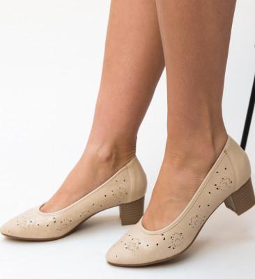 Pantofi Elaine Bej