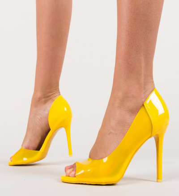 Pantofi Fabo Galbeni