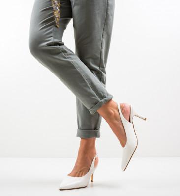 Pantofi Farpi Albi