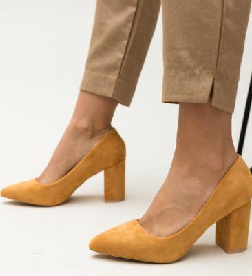 Pantofi Faulker Camel