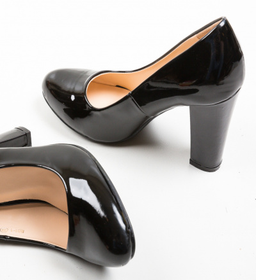 Pantofi Hekol Negri