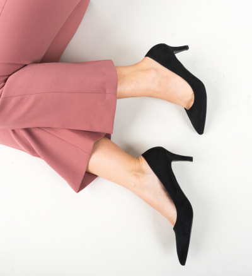 Pantofi Hipor Negri