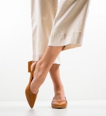 Pantofi Howe Camel